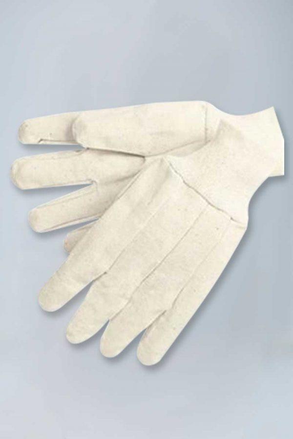 12 oz cotton canvas knitwrist gloves