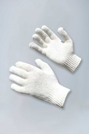 Men's Regular Weight 100% Cotton Knit Gloves